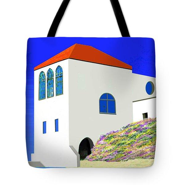 A Private Beach Tote Bag