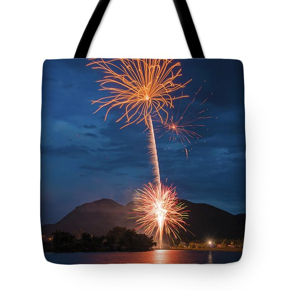 A Prodigious Fulmination In Palmer Lake, Colorado  Tote Bag