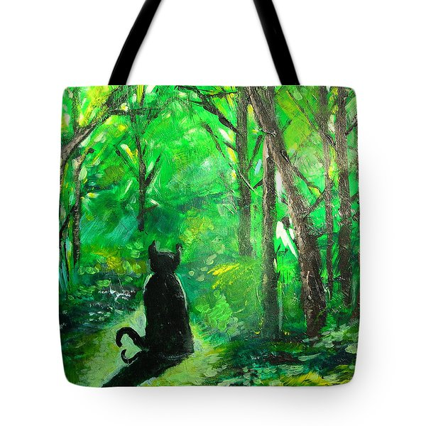 A Purrfect Day Tote Bag