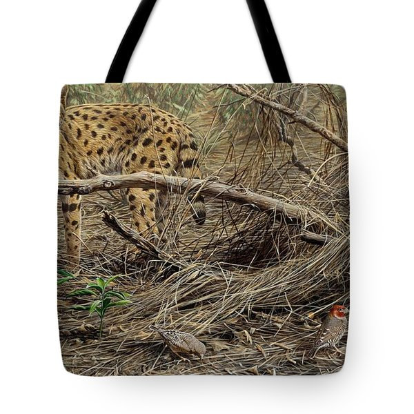 A Quiet Approach Tote Bag