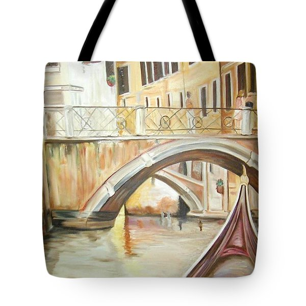 A Quiet Canal Tote Bag