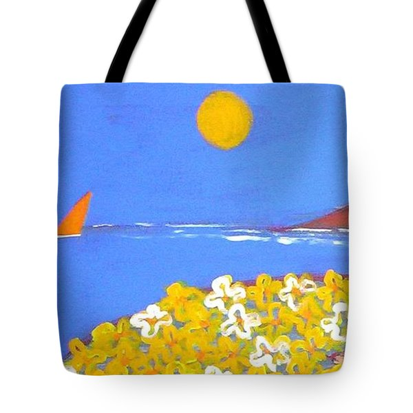 A Quiet Place Tote Bag by Winsome Gunning