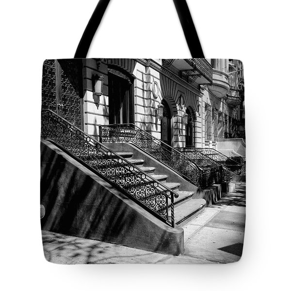A Quiet Street In Manhattan Tote Bag