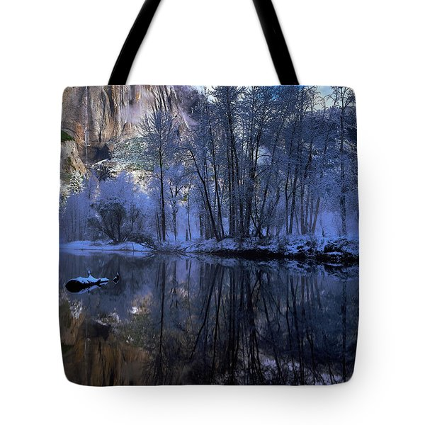 A Quiet View Tote Bag