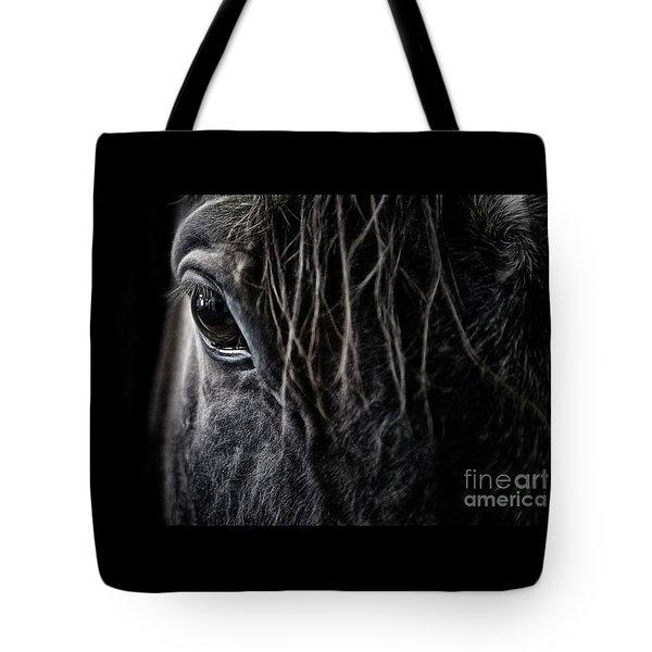 A Race Horse Named Tikki Tote Bag
