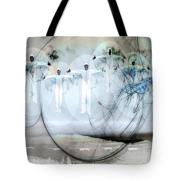 A Rainbow Of Souls Tote Bag