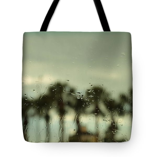 A Rainy Day Tote Bag