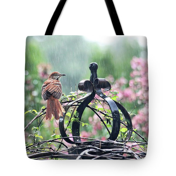 A Rainy Summer Day Tote Bag