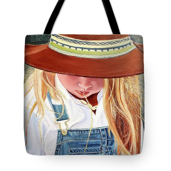 A Real Cowgirl Tote Bag