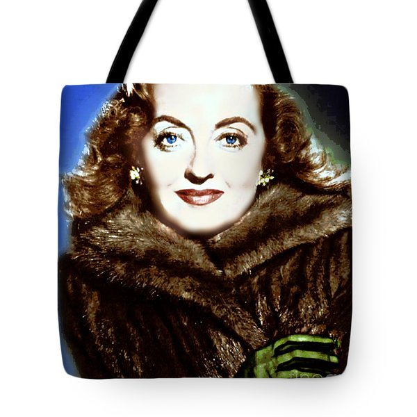 A Real Dame Tote Bag by Wbk