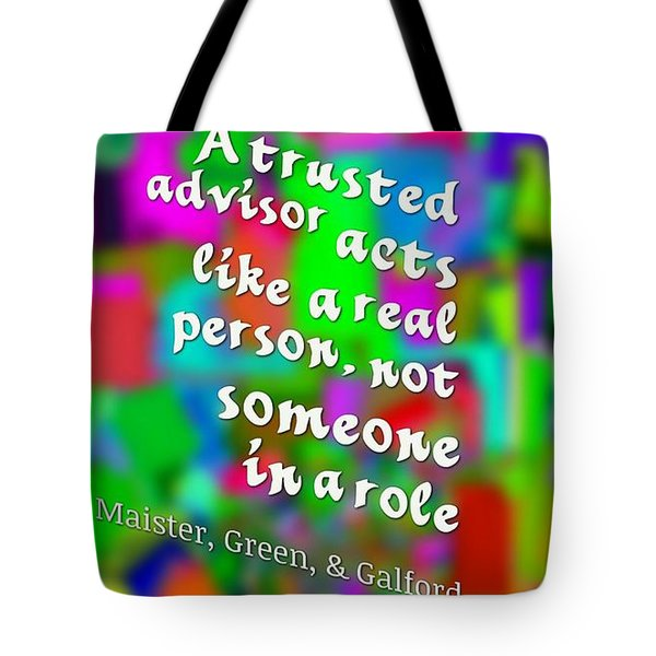 Tote Bag featuring the digital art A Real Person by Holley Jacobs