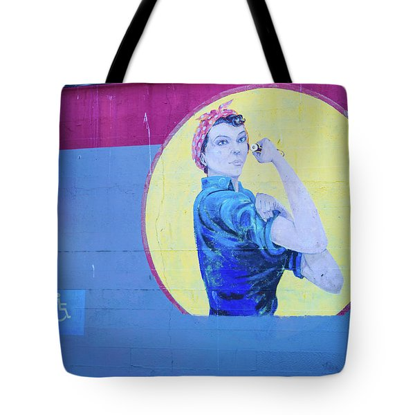 A Real Wonder Woman Tote Bag