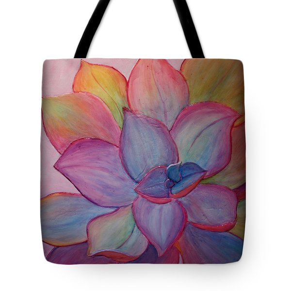 Tote Bag featuring the painting A Reason For Being by Sandi Whetzel