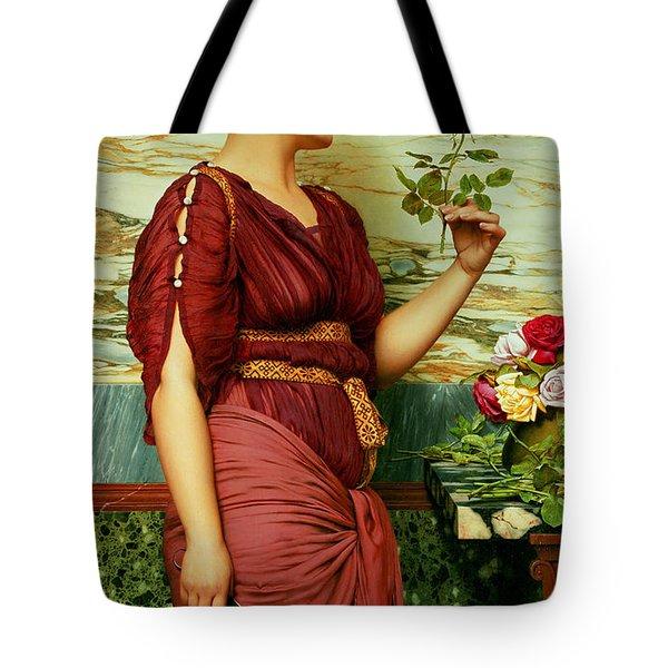 A Red Rose   Tote Bag