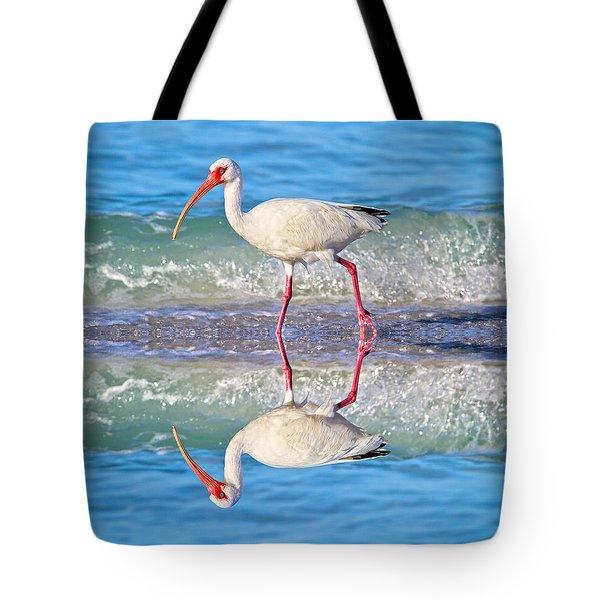 A Reflective Walk Tote Bag