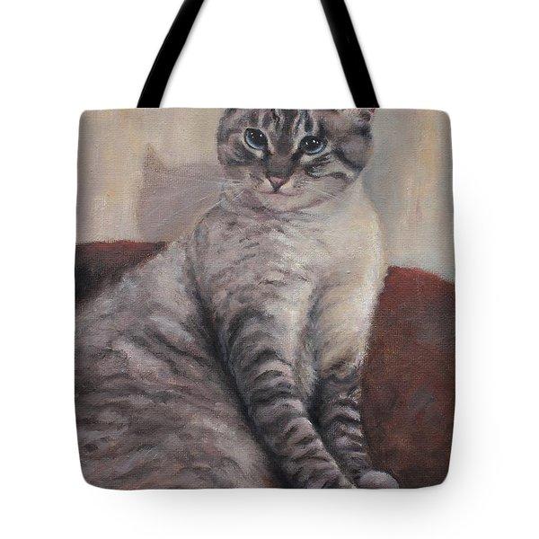 A Regal Pose Tote Bag