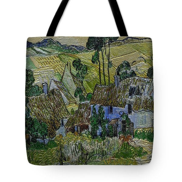 A Replica Of A Painting  Of Van Gogh Tote Bag by Pemaro