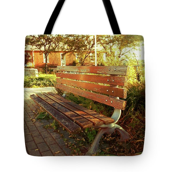 Tote Bag featuring the photograph A Restful Respite by Shawn Dall