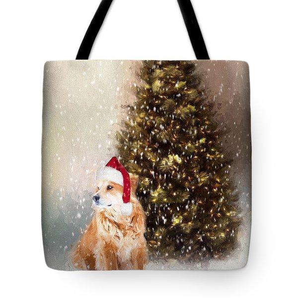 A Retriever Kind Of Christmas Tote Bag
