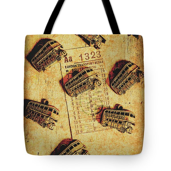 A Return To Old London Tote Bag