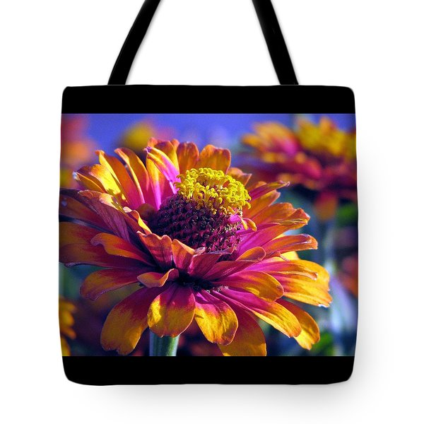 Tote Bag featuring the photograph A Riot Of Color by Chris Anderson