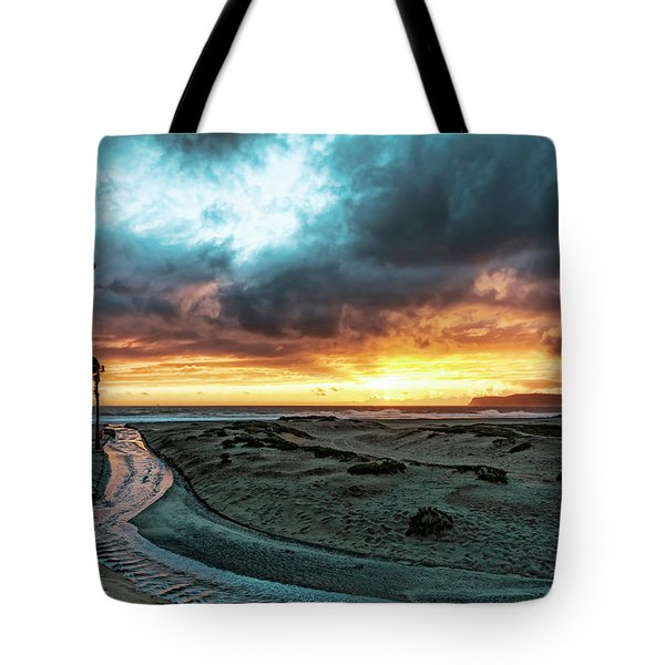 A River Runs Through Tote Bag