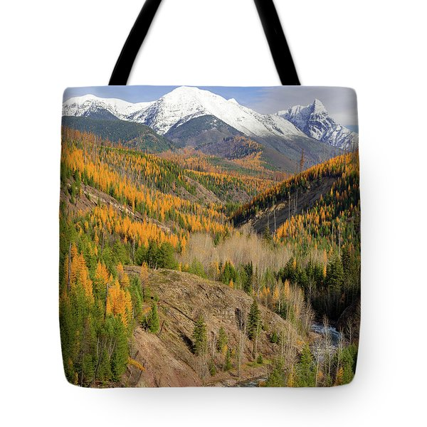 A River Runs Through It Tote Bag by Jack Bell