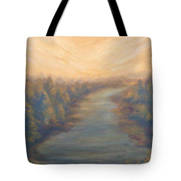 A River's Edge Tote Bag
