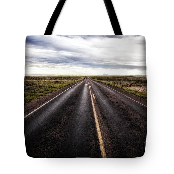 Tote Bag featuring the photograph A Road Less Traveled  ... by Chuck Caramella