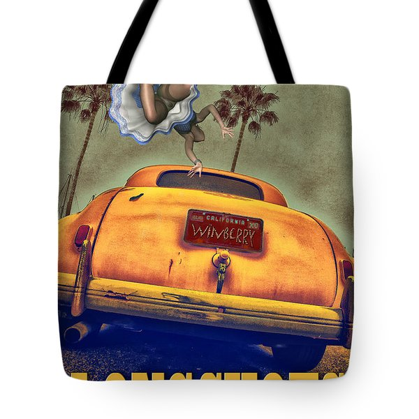 A Road Of Worry A Trunk Full Of Possabilities Tote Bag by Bob Winberry