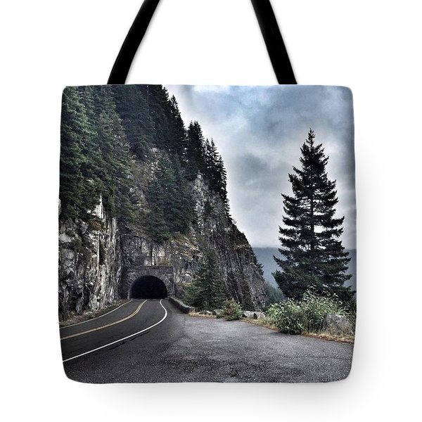 A Road To Nowhere Tote Bag