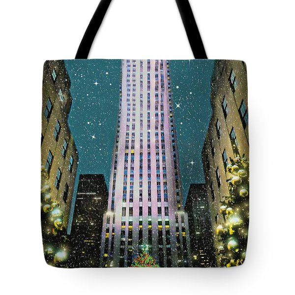 A Rocking Christmas Tote Bag