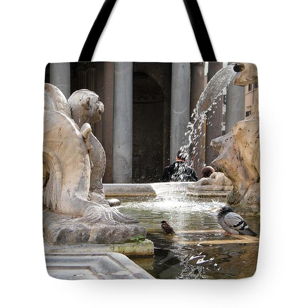 A Roman Bath Time Tote Bag