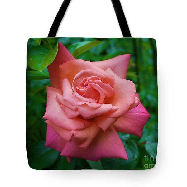 A Rose In Spring Tote Bag