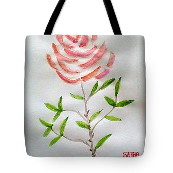 A Rose Is A Rose Is A Rose Tote Bag