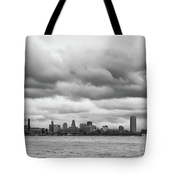 A Rotten Day In Buffalo  9230 Tote Bag
