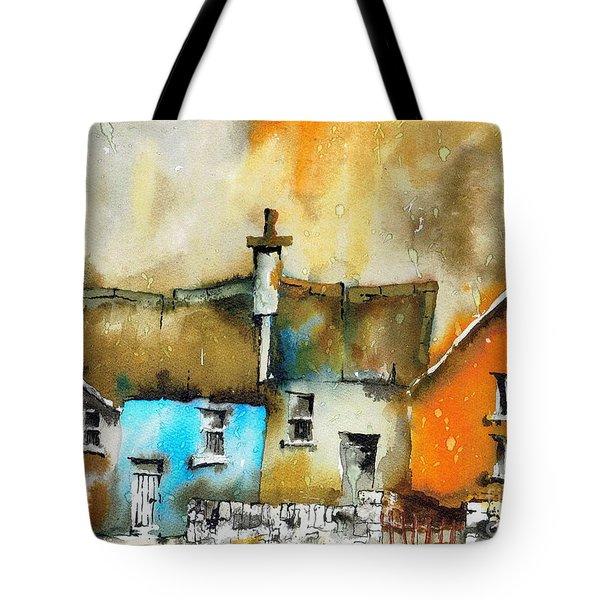 A Row Of Colour Tote Bag