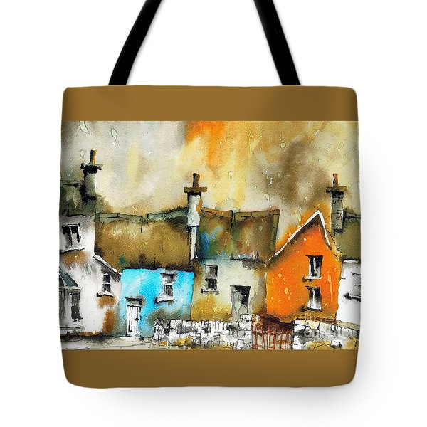 A Row Of Colour Tote Bag