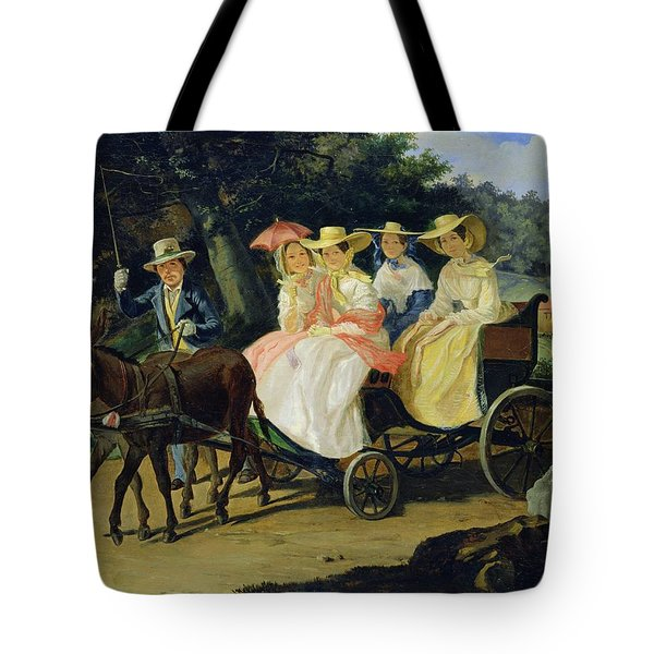 A Run Tote Bag by Aleksandr Pavlovich Bryullov