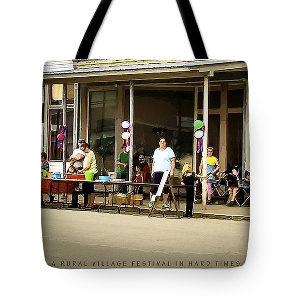A Rural Village Festival In Hard Times Tote Bag
