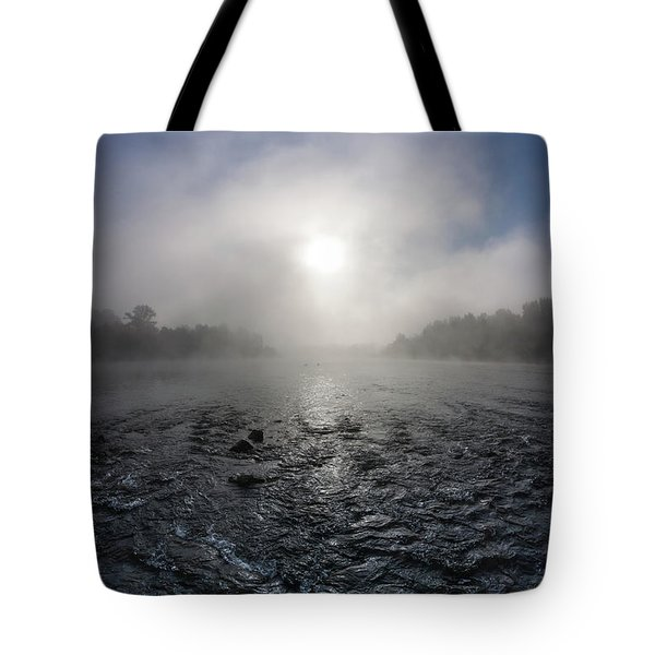 A Rushing River Tote Bag