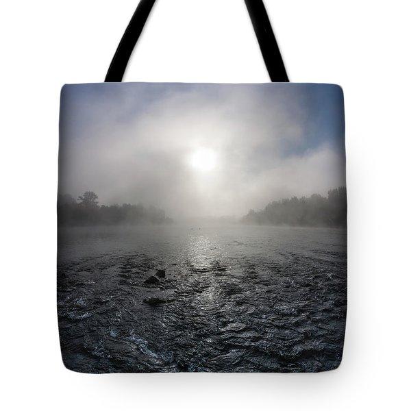 A Rushing River Tote Bag