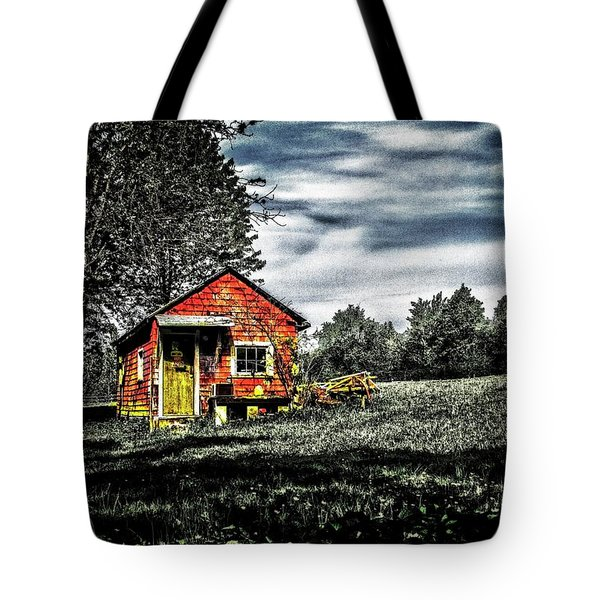 A Ruskin Shed Tote Bag