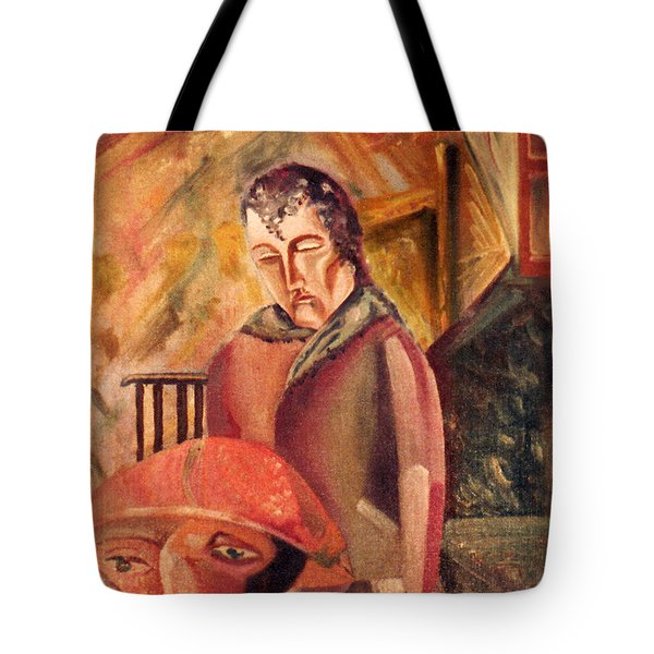 A Sad Way To Say Goodbye Tote Bag by John Keaton