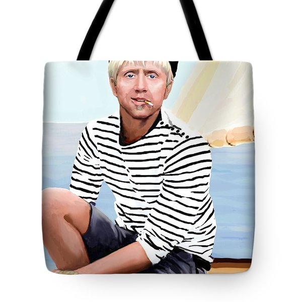 A Sailor Tote Bag by Jann Paxton