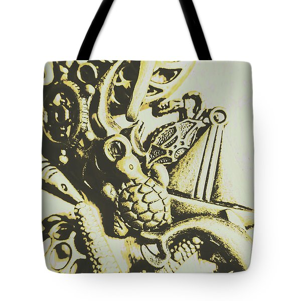 A Sailors Charm Tote Bag