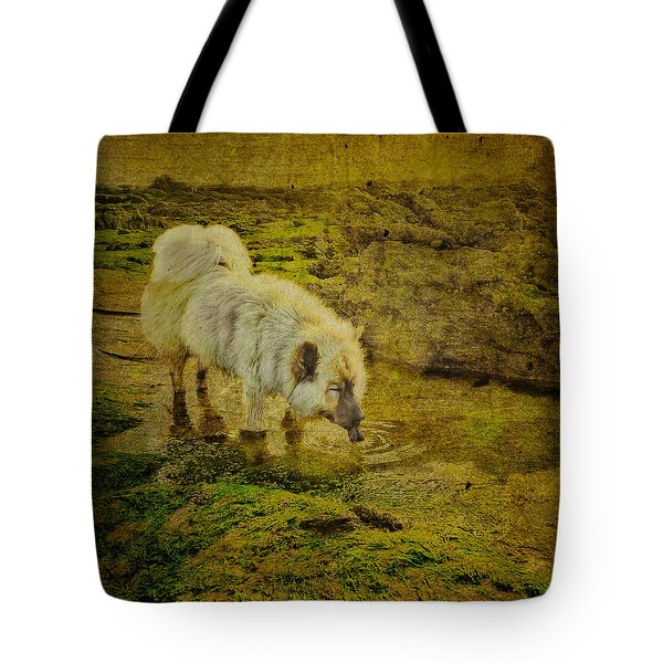 A Salted Thirst Tote Bag by Loriental Photography