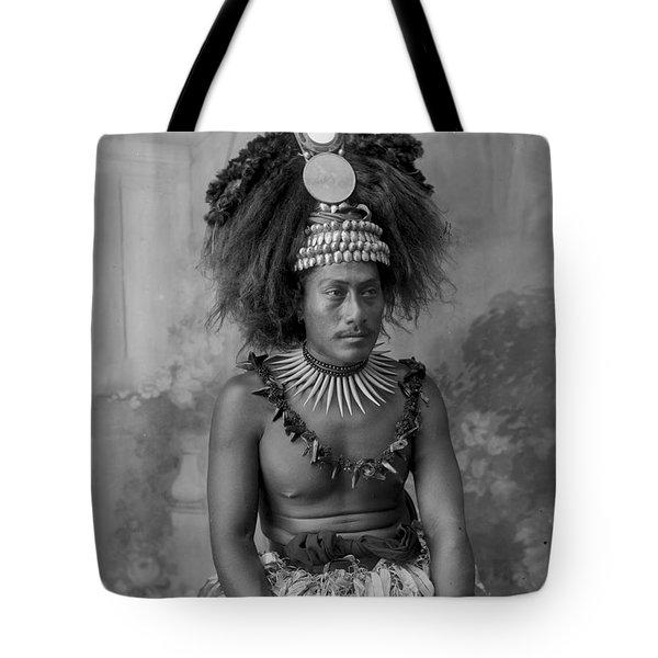 A Samoan High Chief Tote Bag
