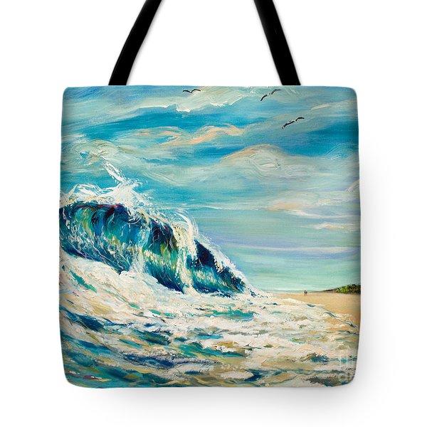 A Sandpiper's View Tote Bag