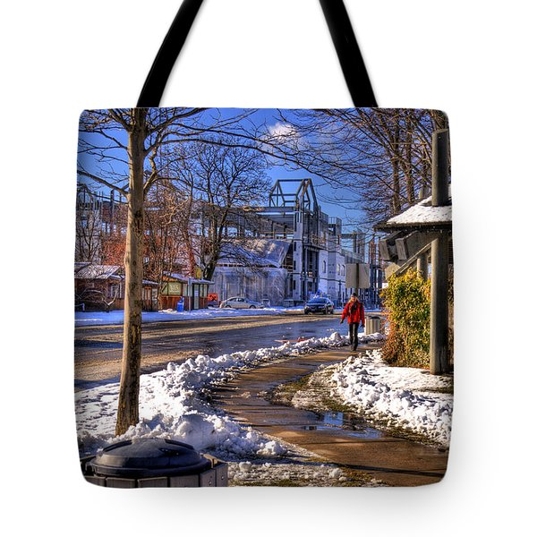 A Sandpoint Winter Tote Bag